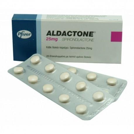 Aldactone 25mg Spironolactone Acheter En Ligne